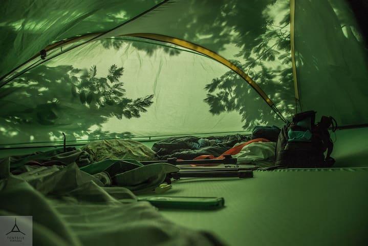 TENTSILE Camp (2pax) Rota Vicentina - Santiago do Cacém - Allotjament sostenible a la natura