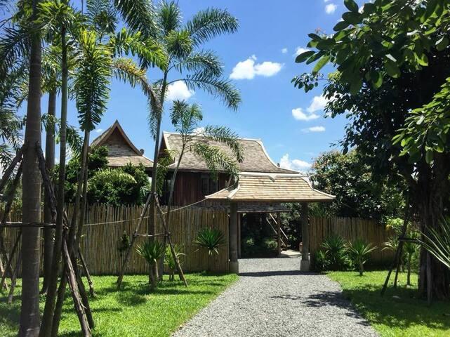 New Private Villa Antique Style @ Govinda Farm