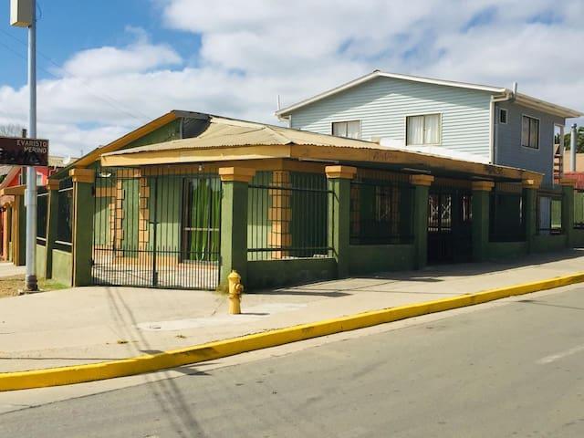 Habitación Matrimonial en Green House Pichilemu