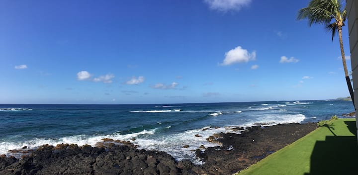 Ocean Front Paradise! Best Location! Poipu Beach!