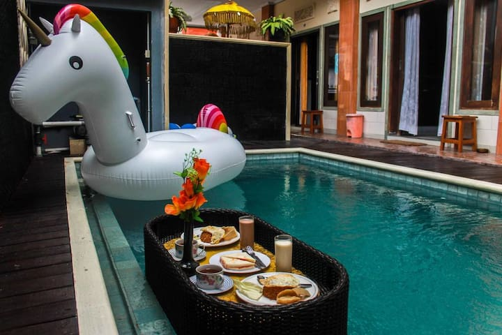 Share Homestay Sunset Road 6Guest+Float Breakfast