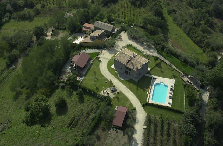 "Agriturismo Casone - Appartamento ""Il Riccio"" - Montefiascone - Dom wakacyjny"