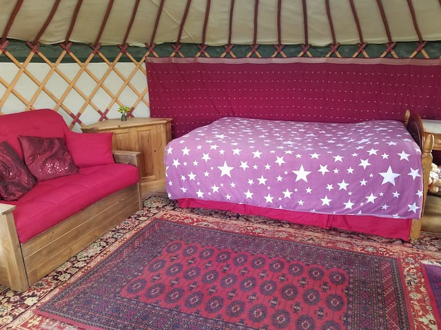 Hilltop Yurt (Totnes/Dartmouth Area)