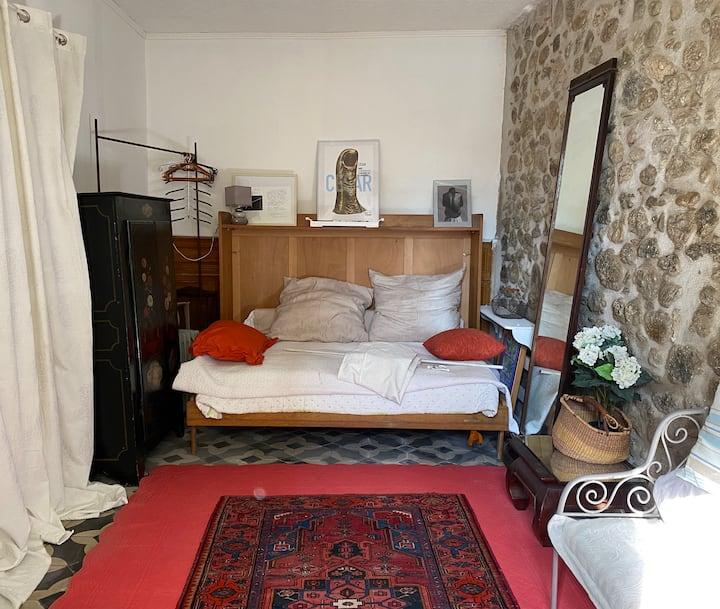 Chambre privée au centre historique de Prades (66)