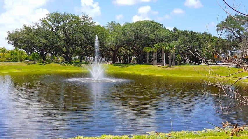 Complex's Private park
