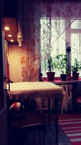 Уютная чистая комната - Sankt-Peterburg - อพาร์ทเมนท์