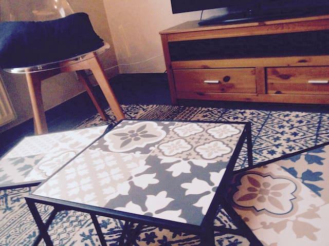 Appartement T3 cosy à 10 min du centre de Lyon
