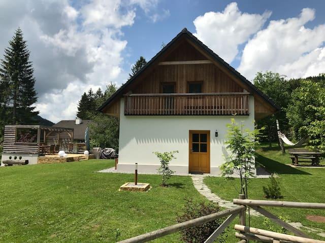 Gemütliches Alm-Haus mit Sauna, Teichalm