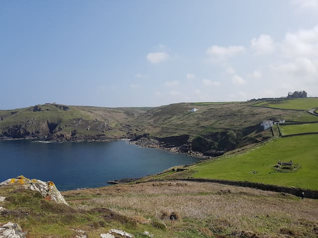 One of the many views from Cape Cornwall. The only Cape in England.