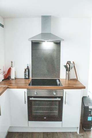 Guests comment on the well equipped kitchen