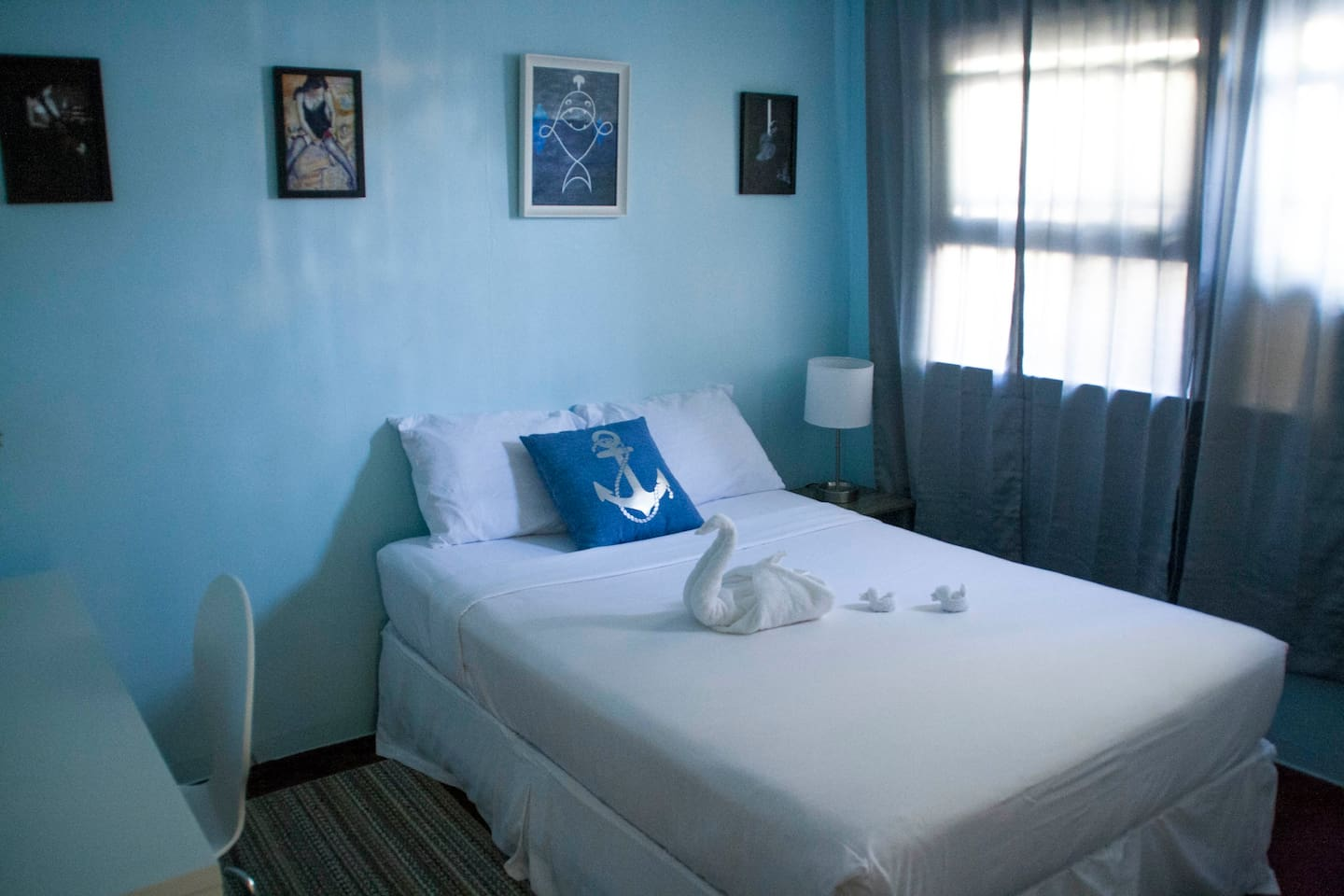 Private bedroom with meticulously cleaned sheets for every guest