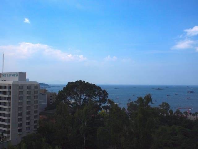 Pattaya Sea View from the Balcony