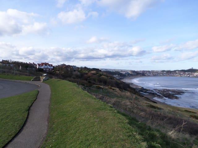 Sea Cliff Road Car Park view