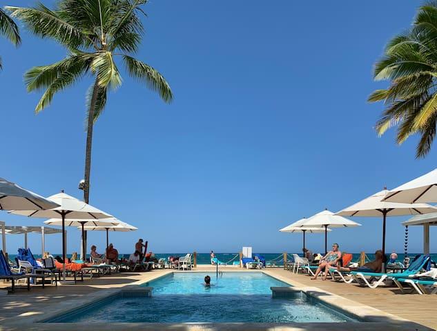 Two Bedroom Beachfront Condo (Playa Dorada)