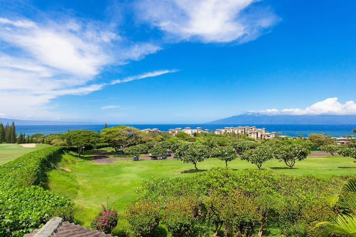Villa 2711. 5th Night FREE! Year-round sunset, ocean and island views! Unrivaled value in The Kapalua Resort!