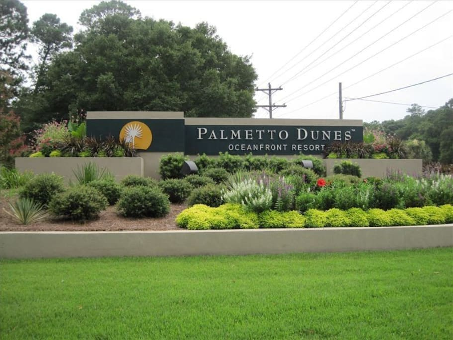 Located in Palmetto Dunes Resort
