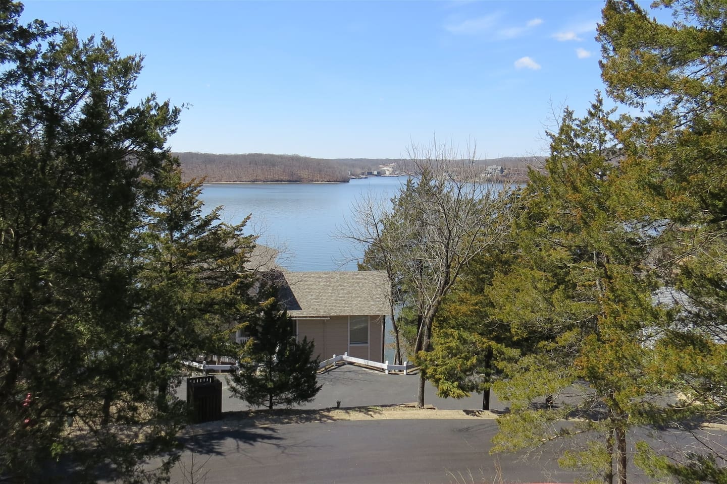 View from Lakeview Deck