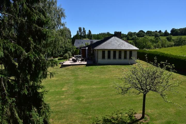 Spacious house near cabourg
