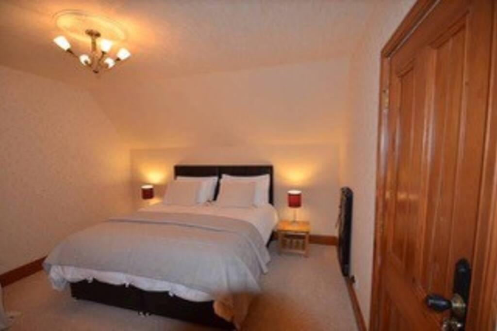 En-suite Bedroom made up as SuperKing
