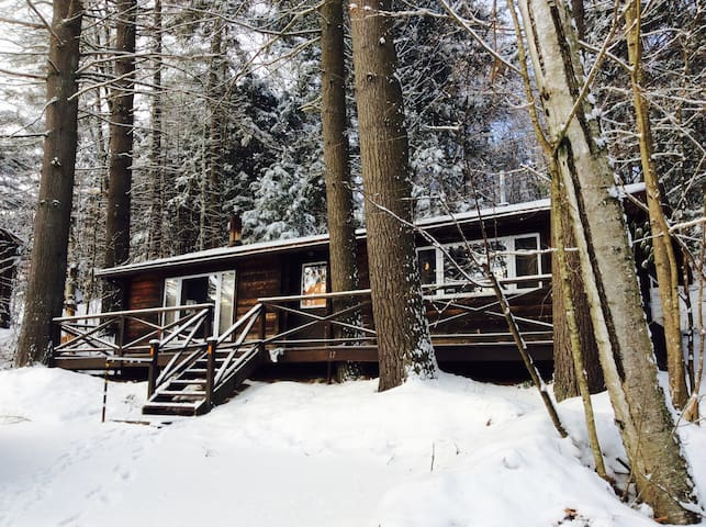 Charming Cabin Two Miles from Sugarbush!