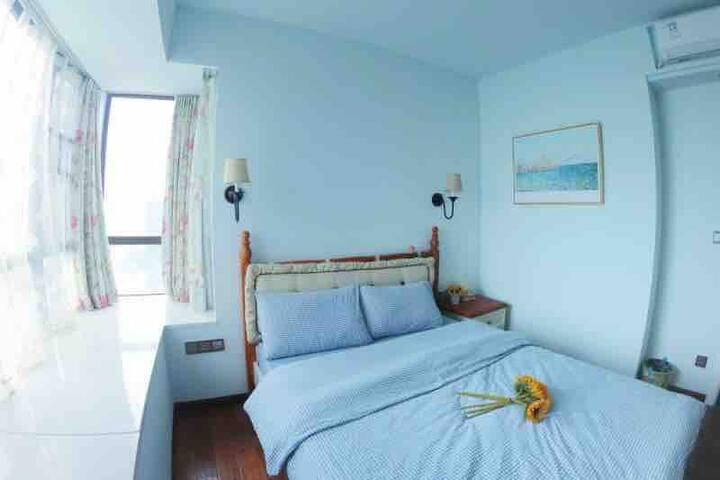 潮州老城区,27楼可眺望江景的美式风格房子,听爱旅行的黄阿姨讲潮州故事