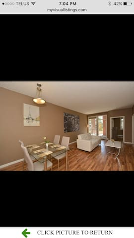 Modern 2 bdrm fully furnished minutes downtown - Calgary