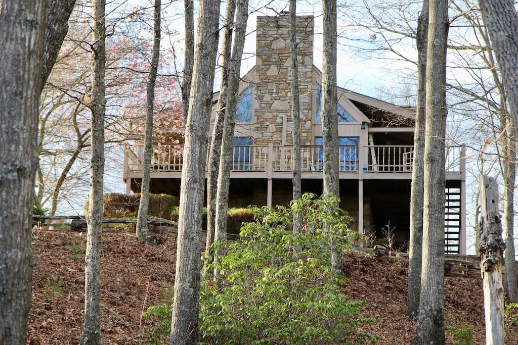 Secluded on 15 mountaintop acres