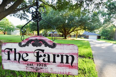 """The Farm""-country setting near DFW area - Mansfield - Haus"