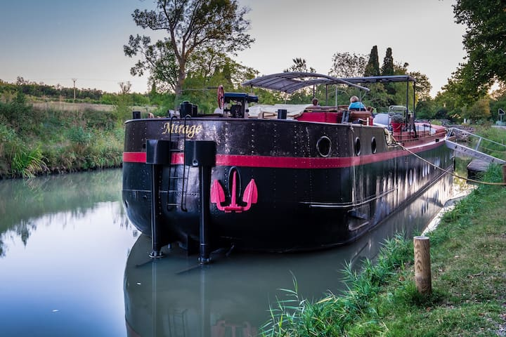 Cabine Caravelle on luxury barge - Carcassonne - Boot