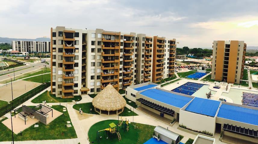 Apartamento Peñalisa Almendro - Ricaurte - Apto. en complejo residencial