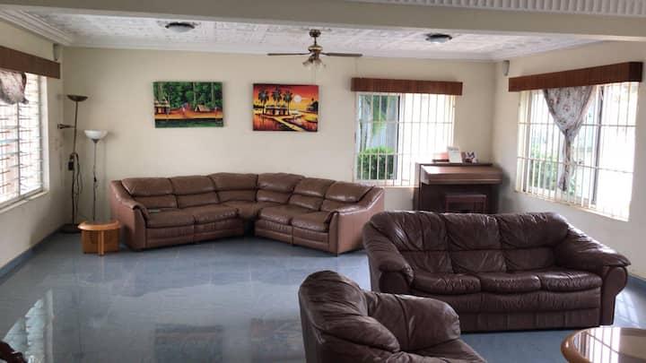 Beautiful room is spacious home