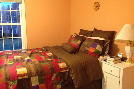 Comfortable bedroom in cozy house - Akron - Rumah