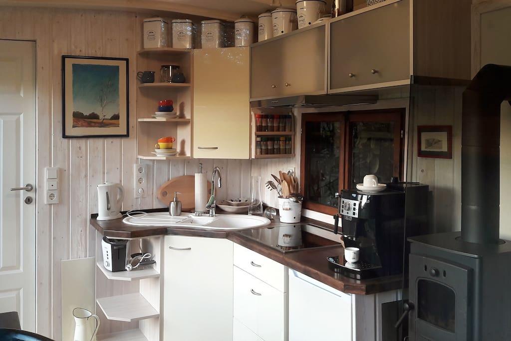 Komfortable Wohnküche