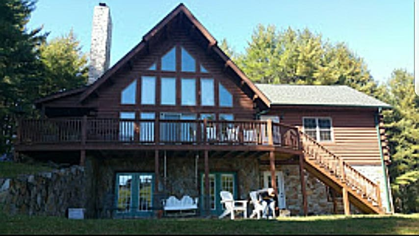Almost Heaven, Laurel Springs Mountain Cabin