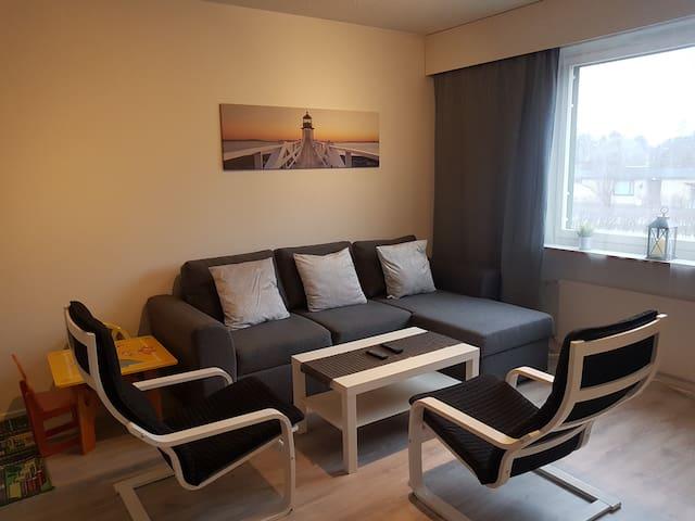 Sweet family apartment Hamina