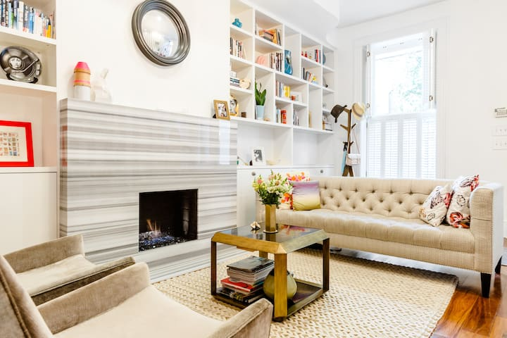 Beautiful Brownstone in Hoboken - Hoboken - Rumah