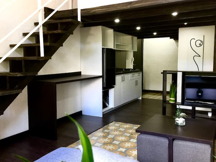 Modern Loft in la Zona Colonial.    Suite 3.