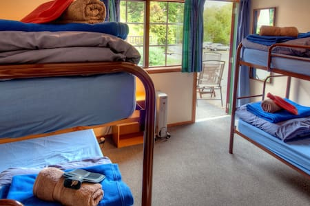 Bunk in 4 bed dorm - Kinloch Lodge (YHA Glenorchy)