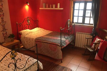 B&B Horse & Move Lusitano, a relax double bedroom - Abadim