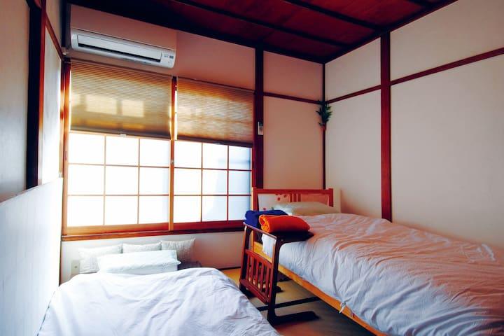 JR/京成金町駅徒歩6分 - 和室(ツイン) - 上野、有楽町、六本木へ乗り換え無し