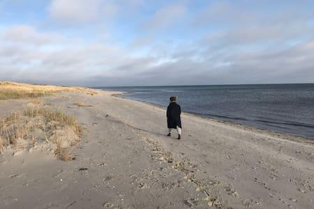 Hygge og afslapning i højsædet / Nordjylland. - Hals - Stuga