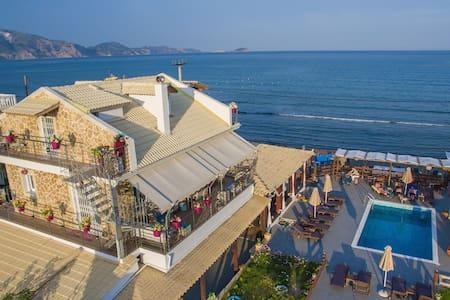 Beachfront 'Villa Marita' in the heart of Laganas
