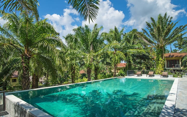 Krabi Green Hill Pool Villas 02 #2BR Shared pool