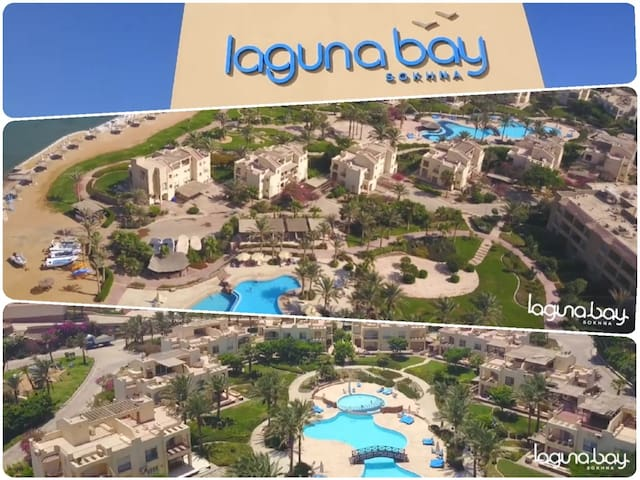 Stunning 3 BRs in Laguna Bay Sokhna with sea View!