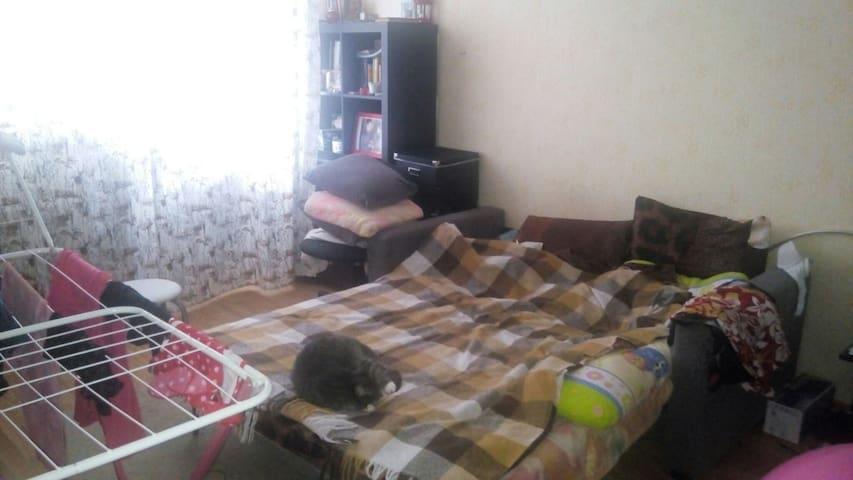 Квартира с большим балконом в Красном селе - Krasnoye Selo - Apartamento