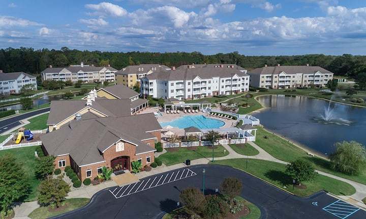 2 Bedroom at Wyndham Palm-Aire
