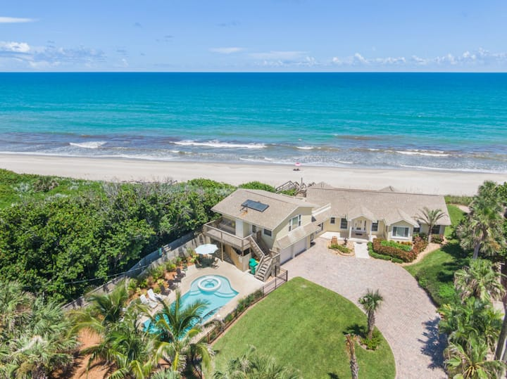 Direct Oceanfront Home w/ Hot Tub & Heated Pool!!