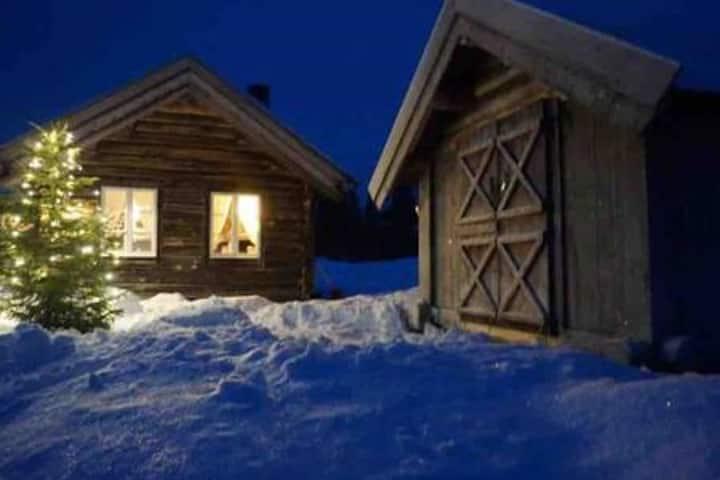 Unik liten hytte i Hallingdal Sangefjell i Ål