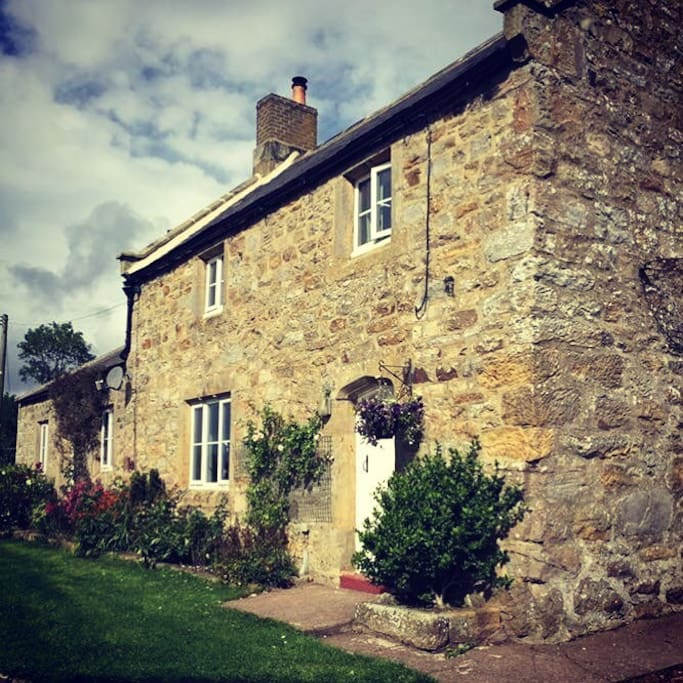 This is the The Lonnen. The cottage is around 250 years old and is part of my family farm - we've only been here for just over 100 years though!