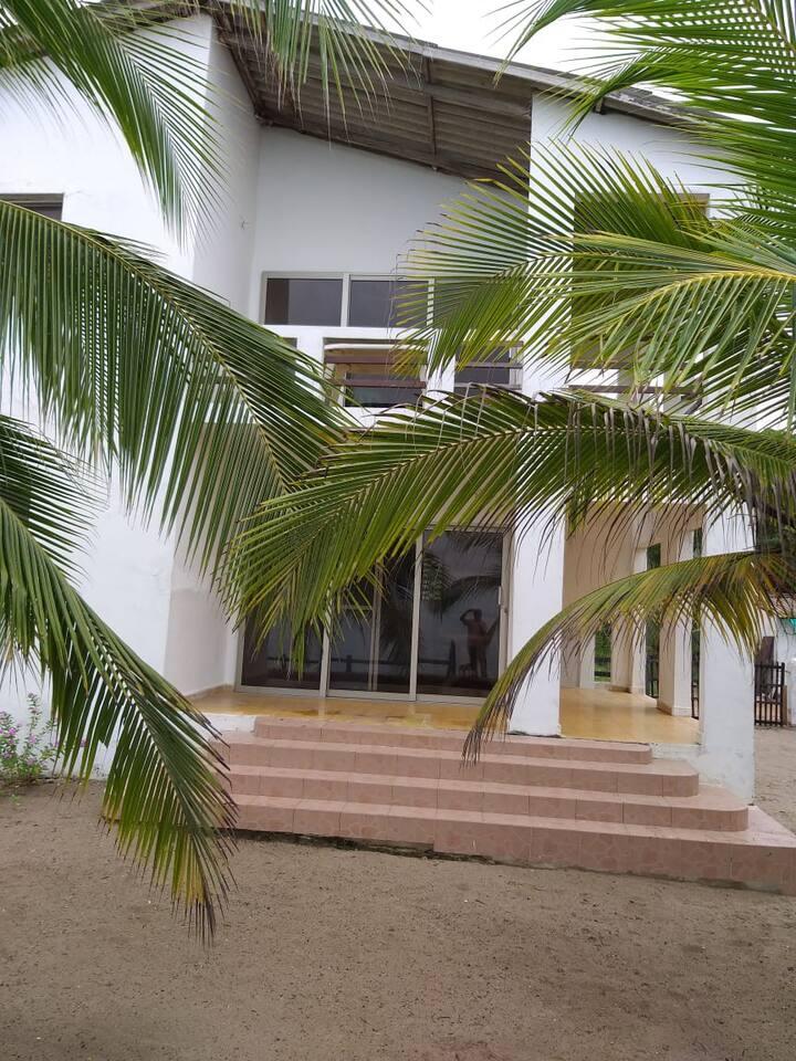Cabañas, playa privada, el frances - tolú.